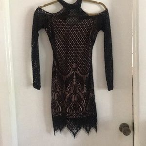 Off the shoulder, sexy lace dress